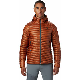 Mountain Hardwear Ghost Whisperer/2 Capuchon Jas Heren, rust earth